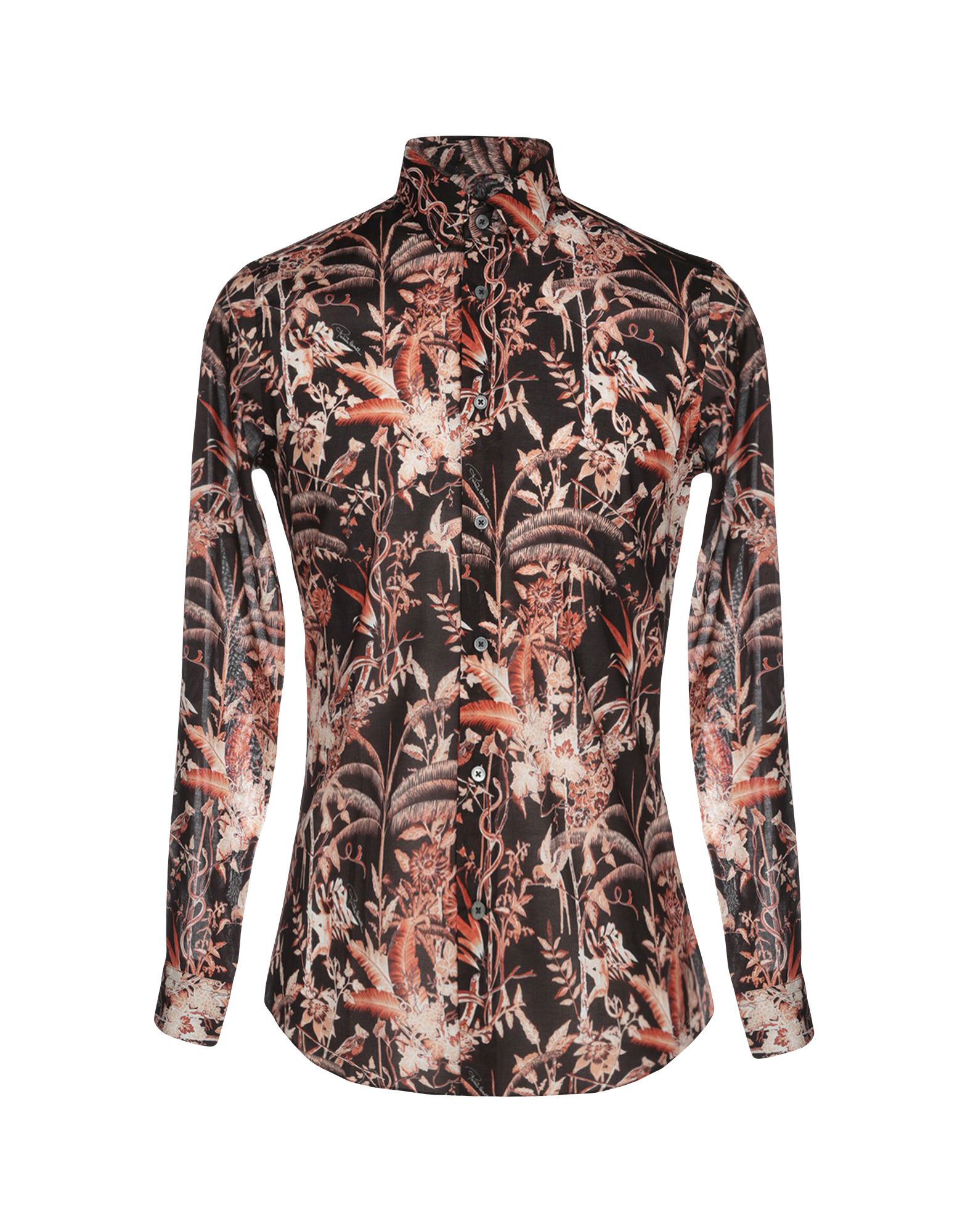 b29a0061 Roberto Cavalli Patterned Shirt - Men Roberto Cavalli Patterned ...