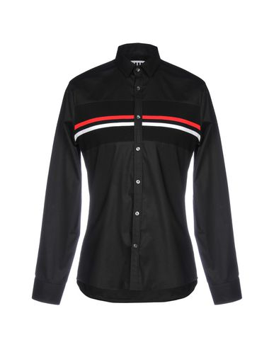 URBAN LES HOMMES - 솔리드 컬러 셔츠