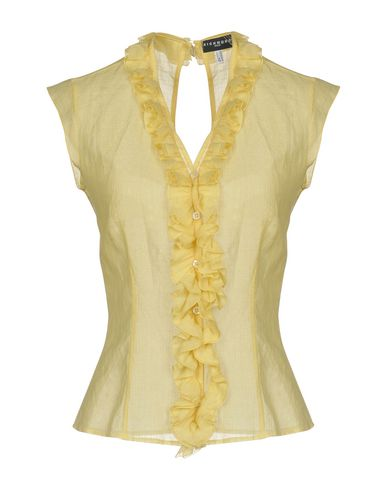 RICHMOND DENIM Solid Color Shirts & Blouses in Yellow