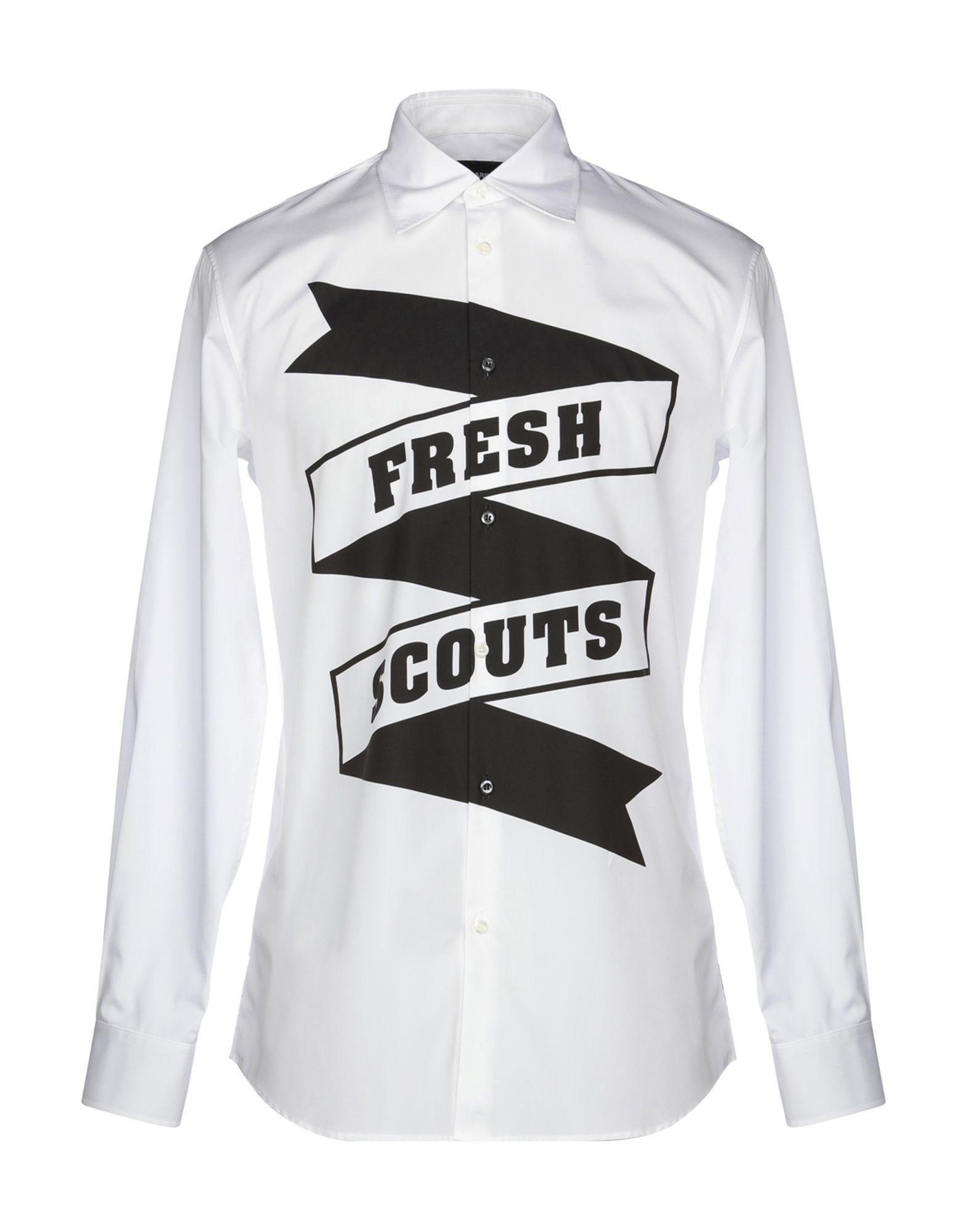 Camicia Tinta Unita Dsquarot2 herren - 38777442HJ