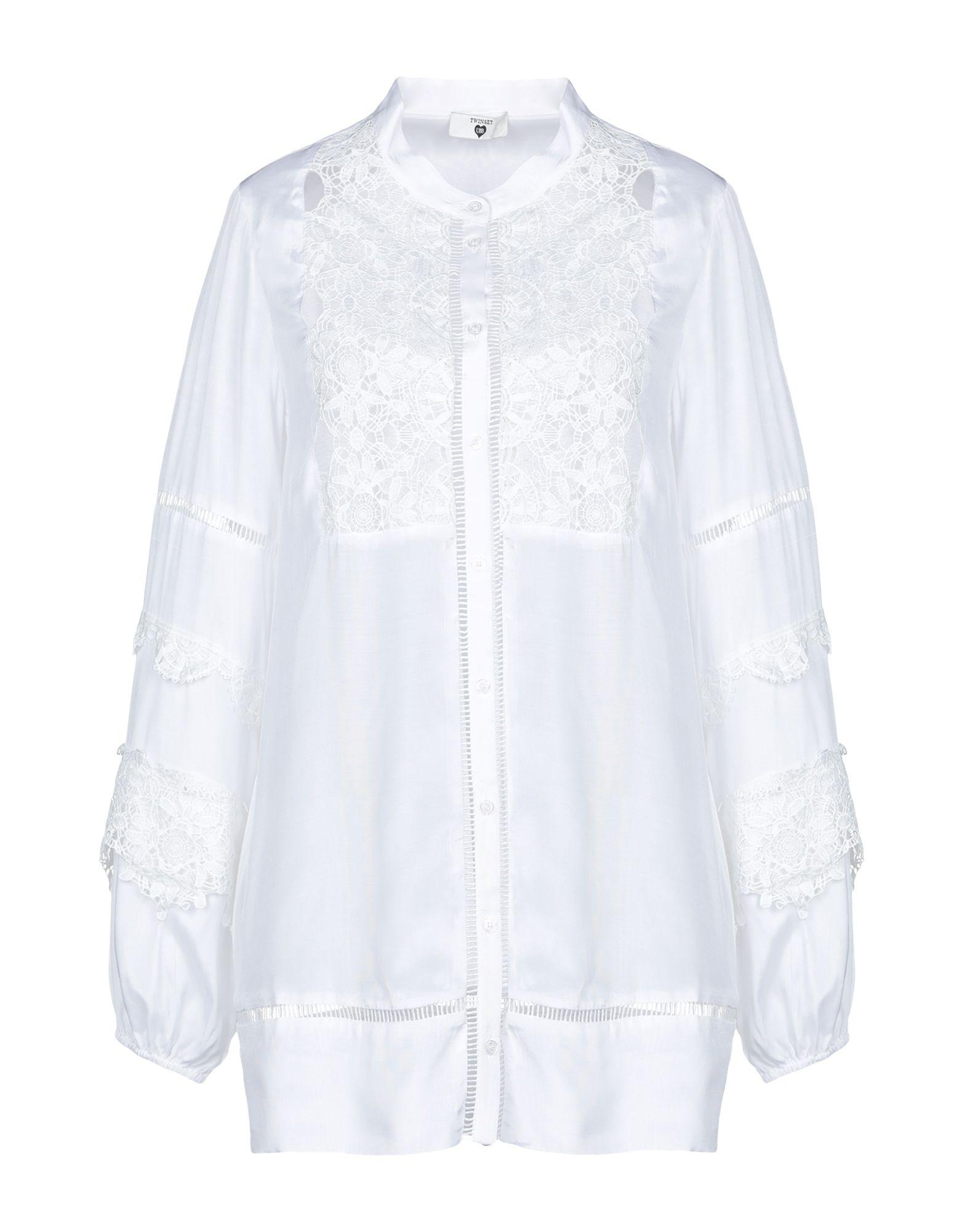 e93f60e5a1720c Twinset Lace Shirts & Blouses - Women Twinset Lace Shirts & Blouses ...