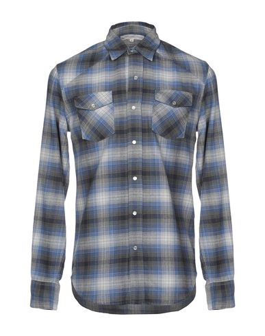 CHRISTOPHE SAUVAT COLLECTION Checked Shirt in Grey