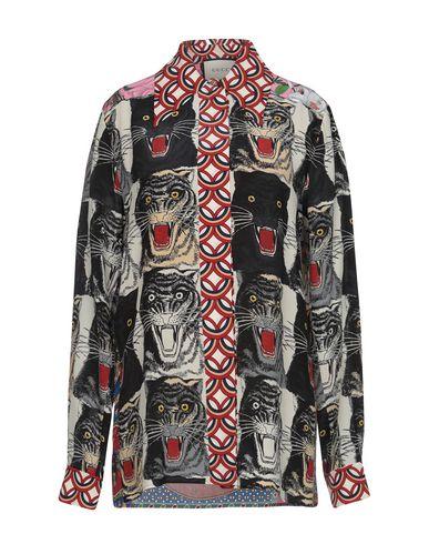 f53047fa33f Gucci Patterned Shirts   Blouses - Women Gucci Patterned Shirts ...