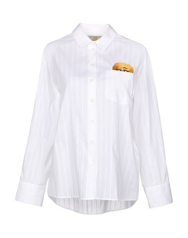 PAUL & JOE SISTER Solid Color Shirts & Blouses in White