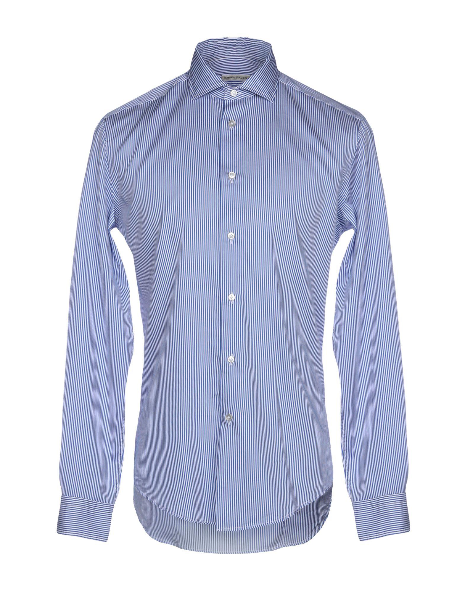 Camicia A Righe Brian Dales uomo - 38781511HX