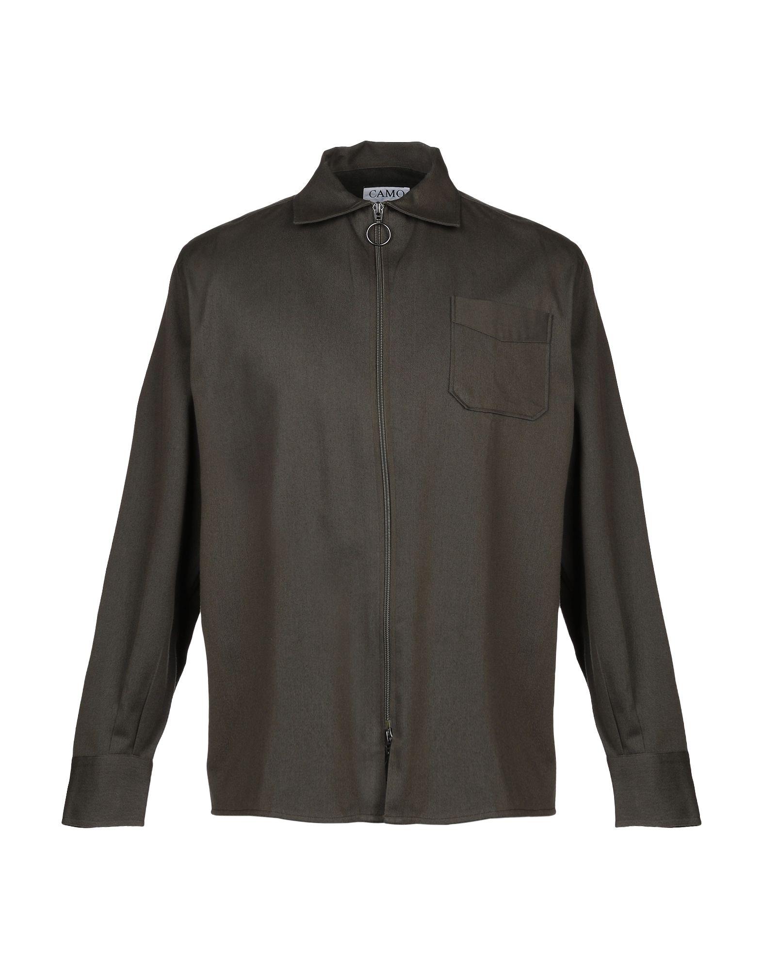 Camicia Tinta Tinta Unita Camo uomo - 38781659GR  Herrlich