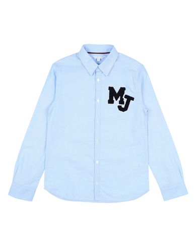 LITTLE MARC JACOBS Solid Color Shirt in Sky Blue