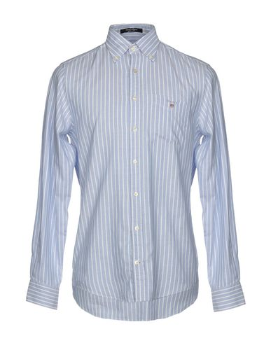 e40a5ffe4ba Gant Striped Shirt - Men Gant Striped Shirts online on YOOX United ...