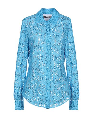 MOSCHINO - Lace shirts & blouses