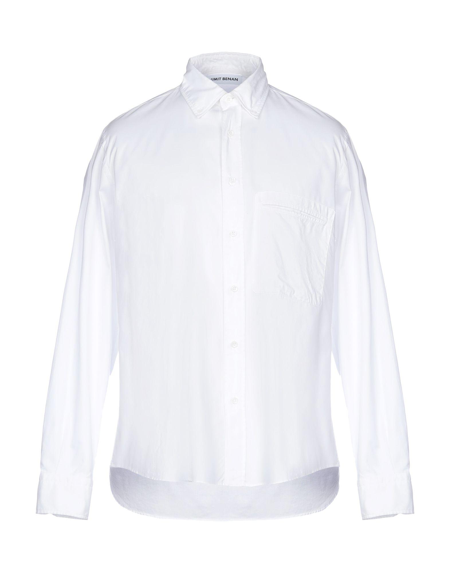 Camicia Tinta Unita Umit Benan herren - 38782835BT