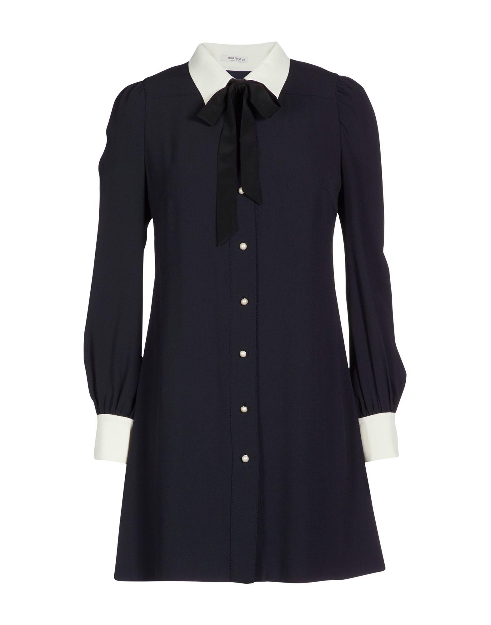 b4400a810f65 Miu Miu Solid Color Shirts   Blouses - Women Miu Miu Solid Color Shirts   Blouses  online on YOOX United States - 38784004DG