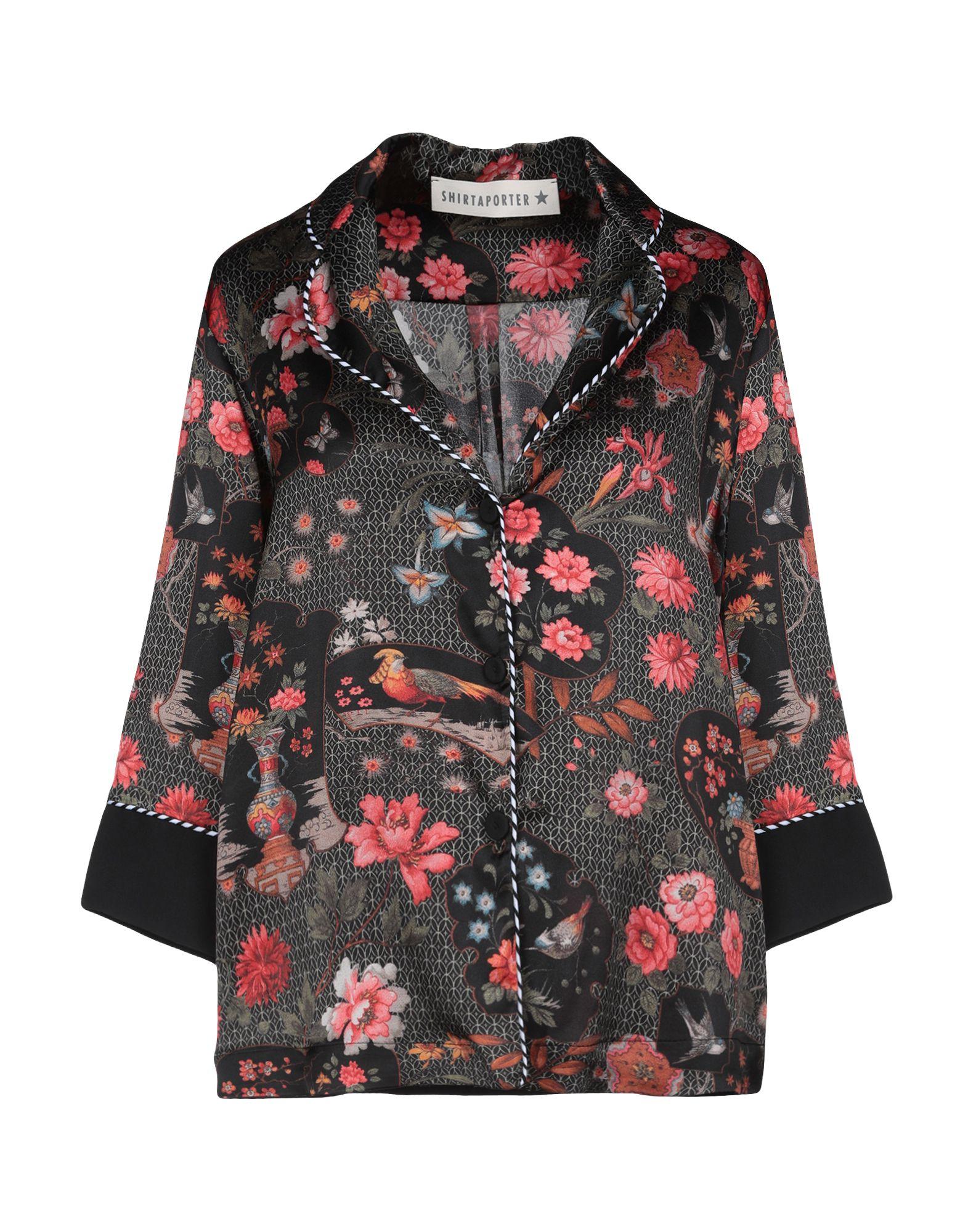 Camicie E bluse A Fiori Shirtaporter donna - 38784497BL 38784497BL 38784497BL c25