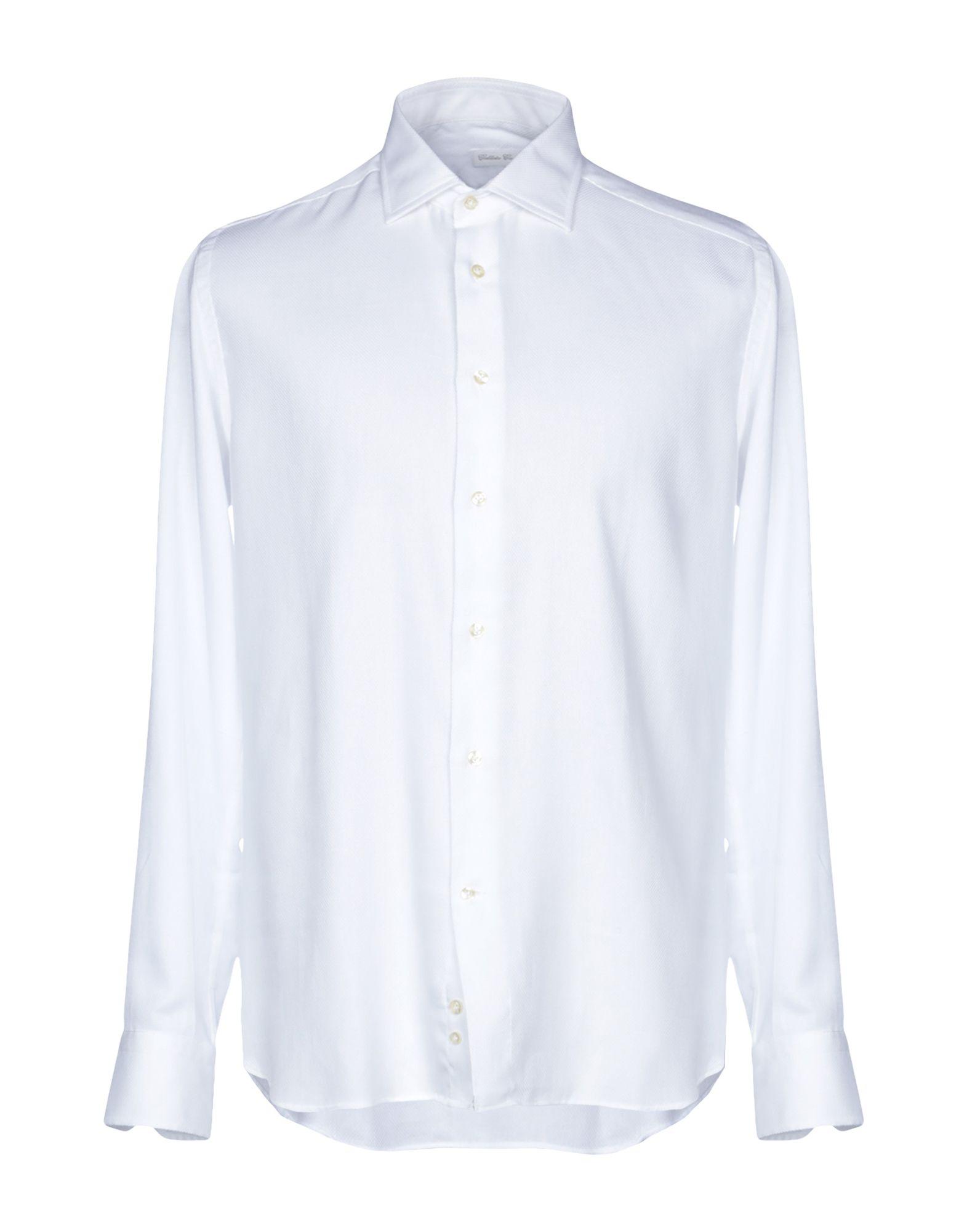 Camicia Tinta Unita Unita Callisto Campora uomo - 38785468BX