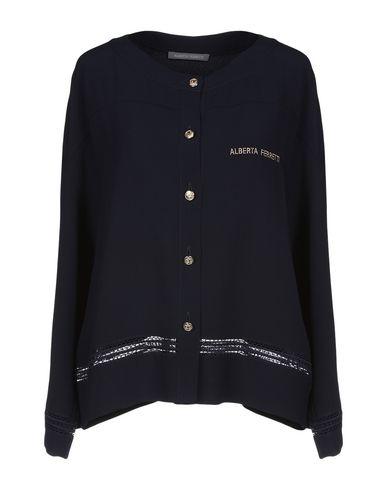 ALBERTA FERRETTI - Solid color shirts & blouses