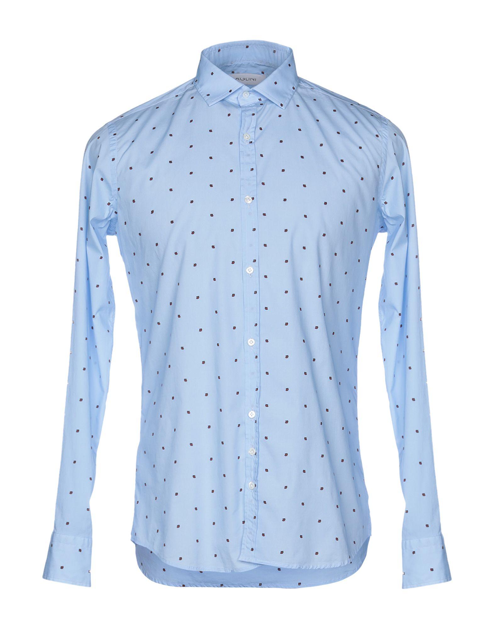 Camicia Fantasia Aglini herren - 38785718IH