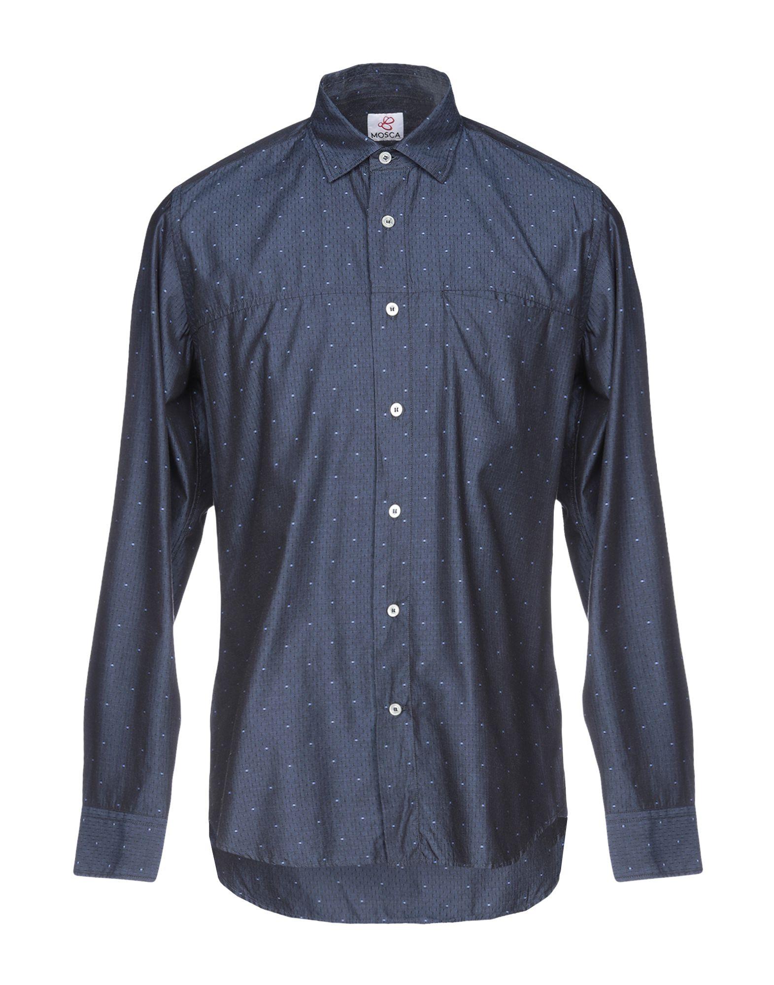 Camicia Tinta Unita Mosca herren - 38786056FA