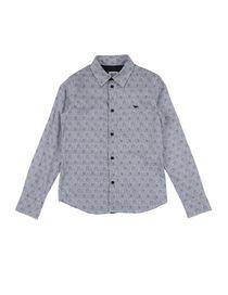 online store bb55b ab9d3 Armani Junior Camicie per bambini e ragazzi 9-16 anni