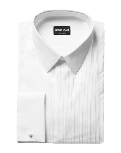 GIORGIO ARMANI - Solid color shirt