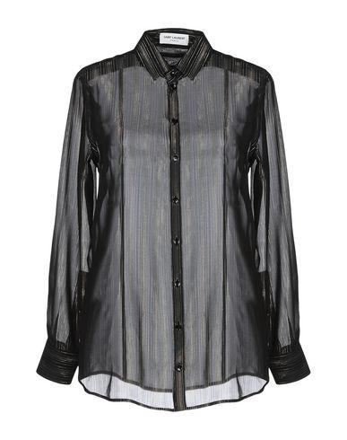 SAINT LAURENT - Striped shirt