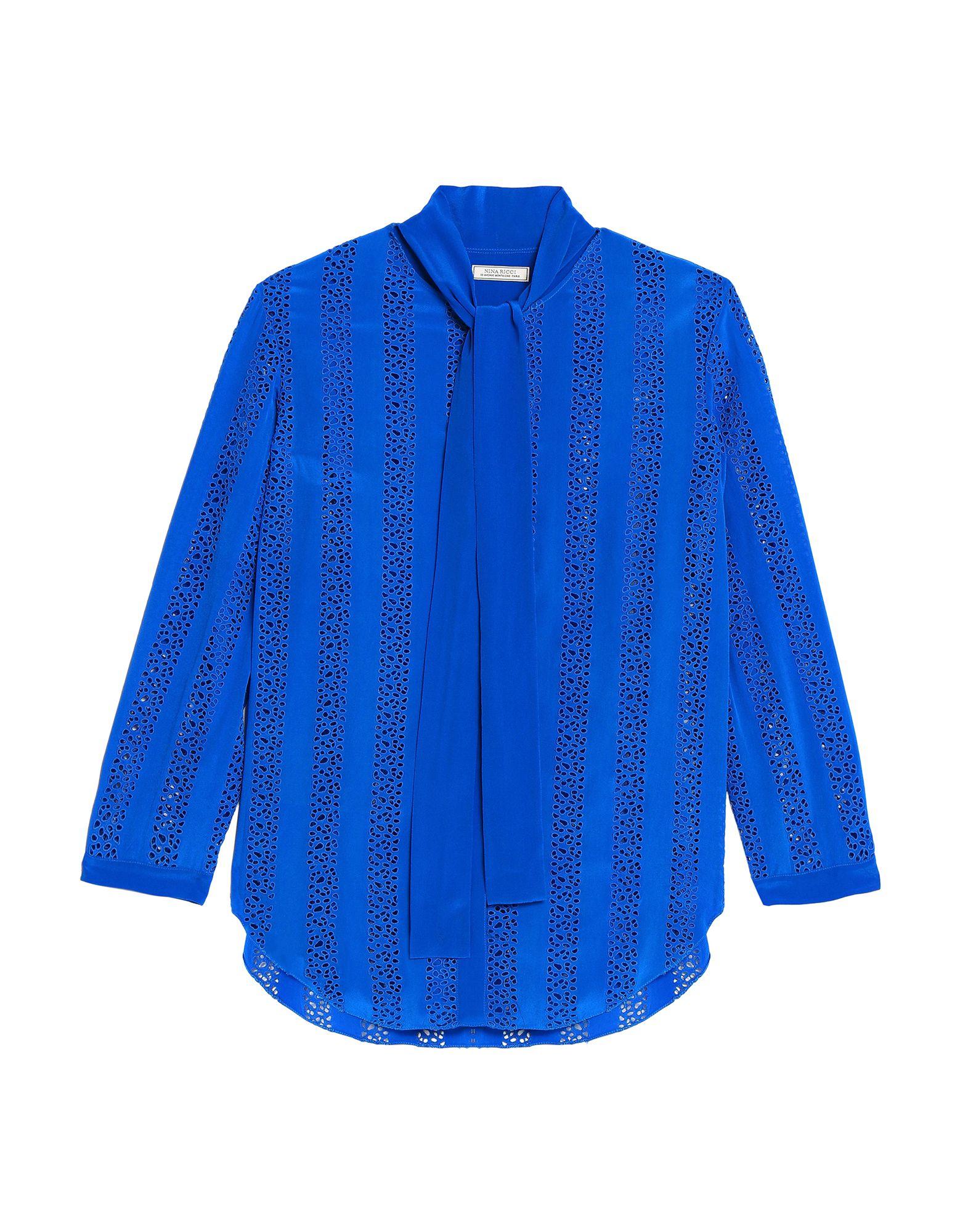 3c05cac8e9bb Camisas Y Blusas Con Lazo Nina Ricci Mujer - Camisas Y Blusas Con ...