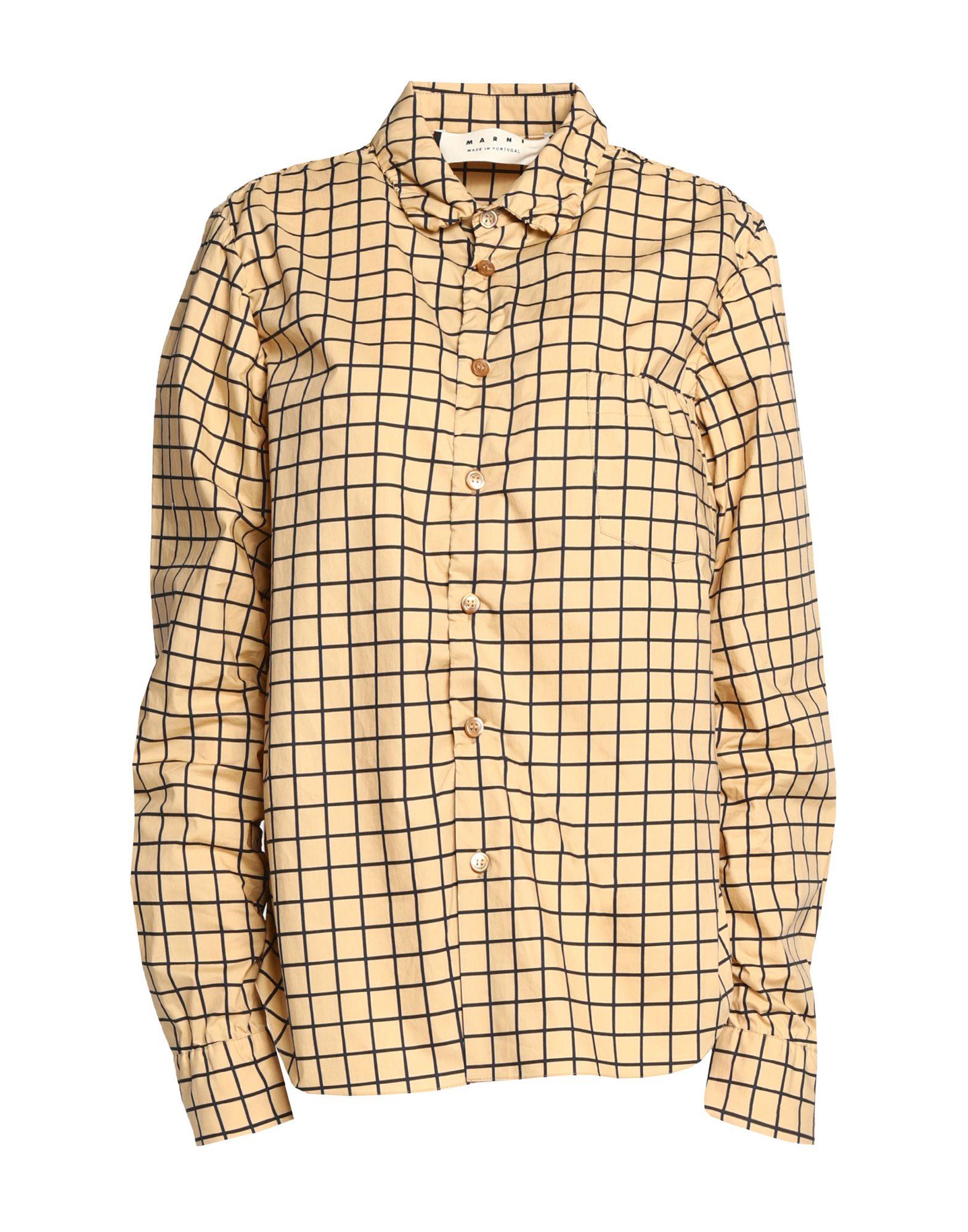 Camicia A Quadri Marni damen - 38789311JM