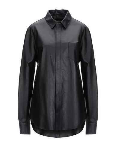 SPACE STYLE CONCEPT Solid Color Shirts & Blouses in Black