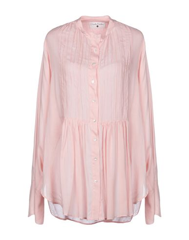 DANIELA PANCHERI Solid Color Shirts & Blouses in Pink