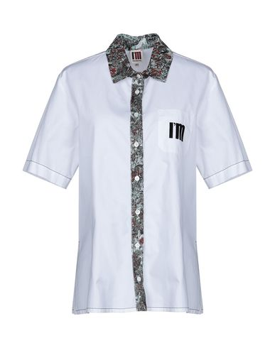 IM ISOLA MARRAS Solid Color Shirts & Blouses in White