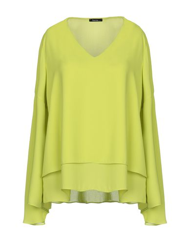 HANITA Blouse in Acid Green