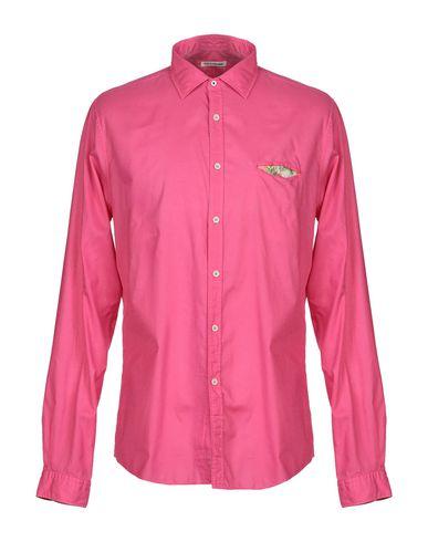 ROBERT FRIEDMAN Solid Color Shirt in Fuchsia