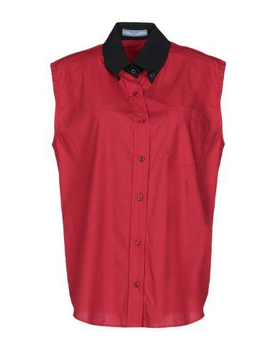 PRADA - Solid color shirts & blouses