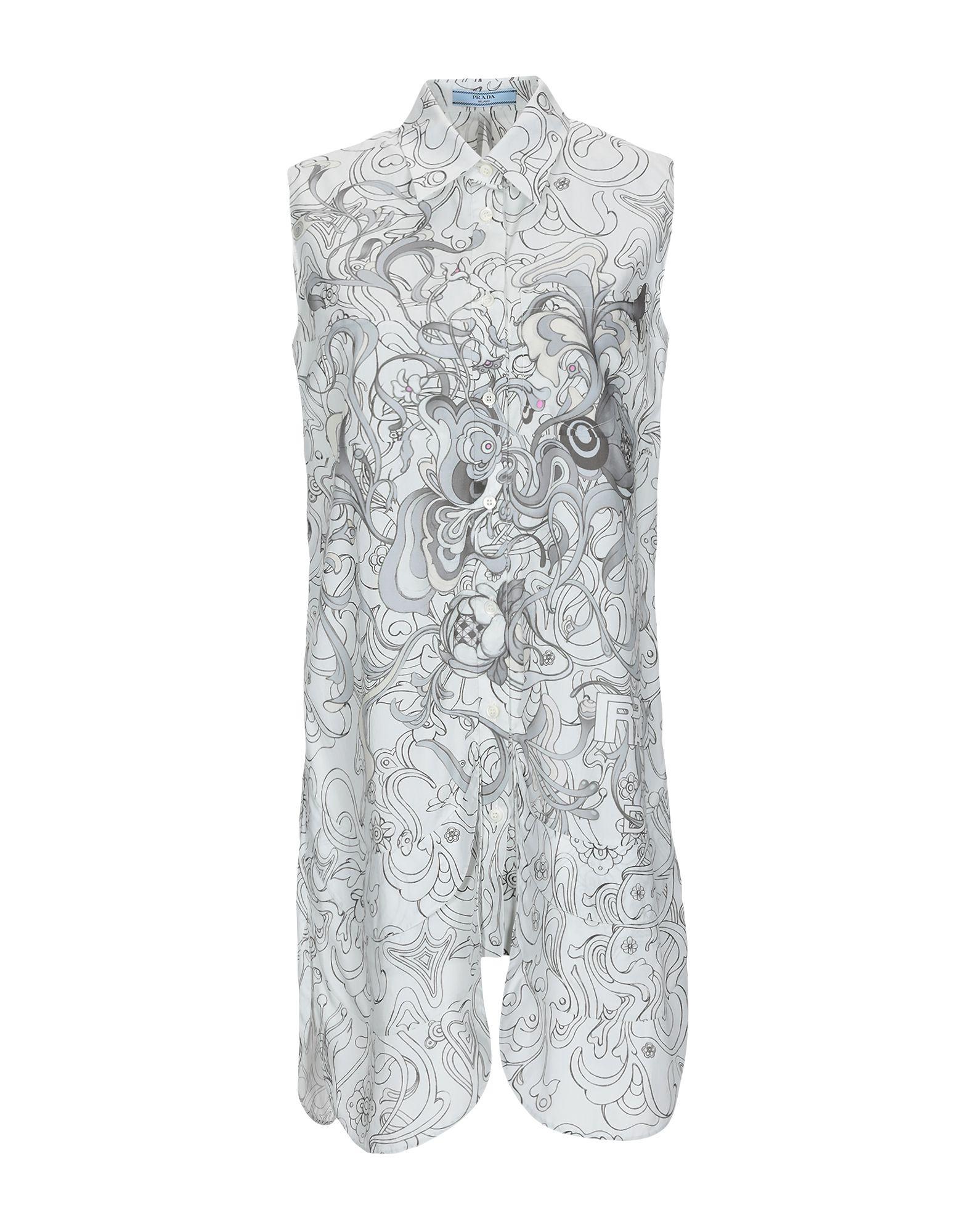 7d18ceeb Prada Shirts - Prada Women - YOOX United States