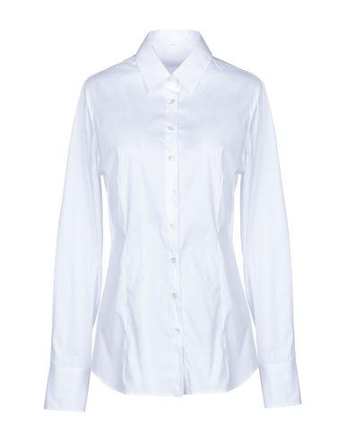 ROBERT FRIEDMAN Solid Color Shirts & Blouses in White