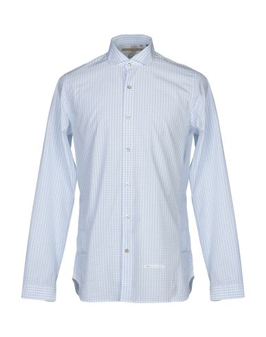 DNL Checked Shirt in Sky Blue