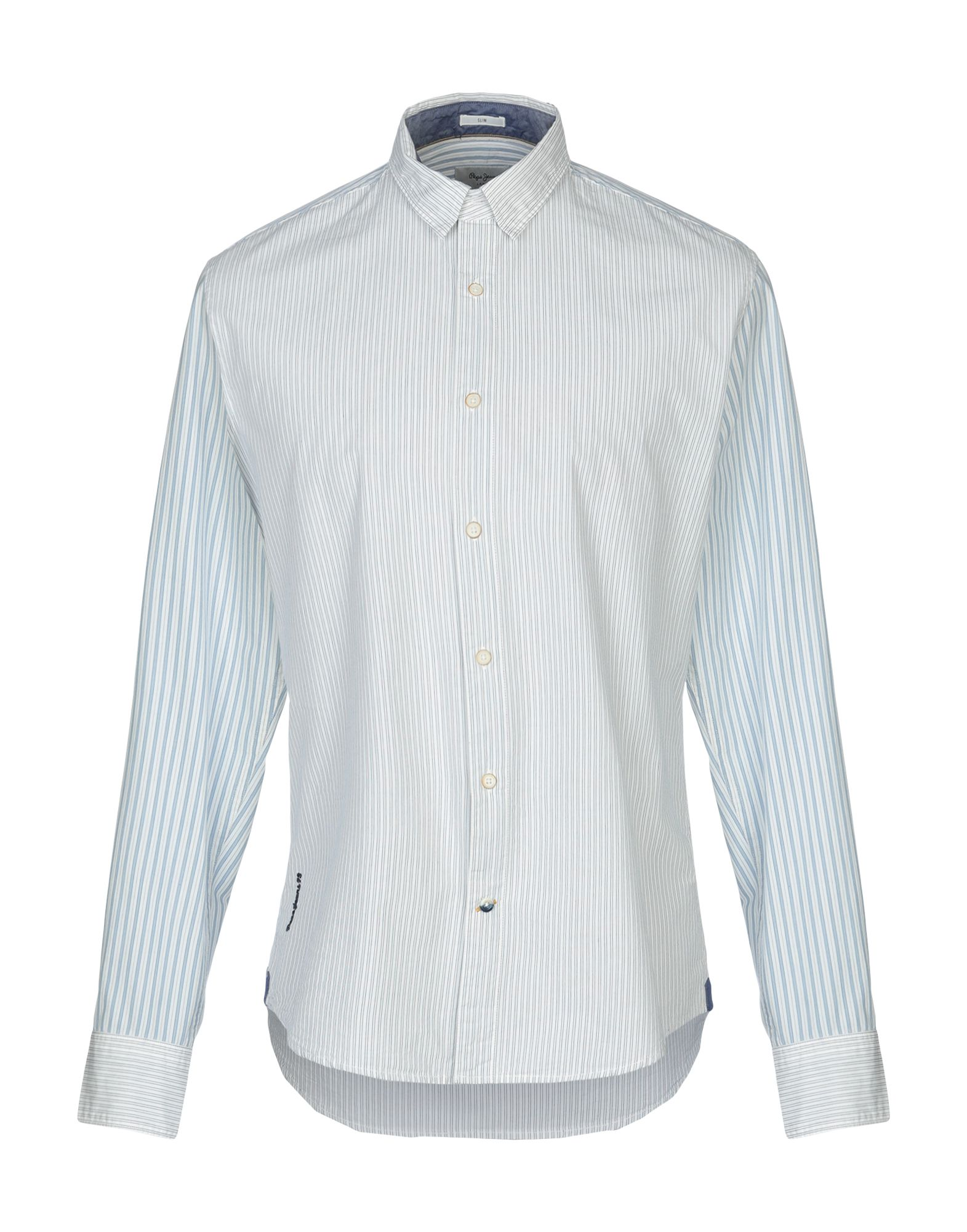 Pepe Jeans Striped Shirt Men Pepe Jeans Striped Shirts Online On