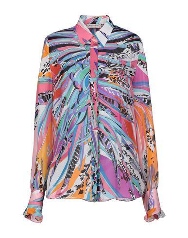 reputable site 1ea11 8040f EMILIO PUCCI Camicie e bluse in seta - Camicie | YOOX.COM