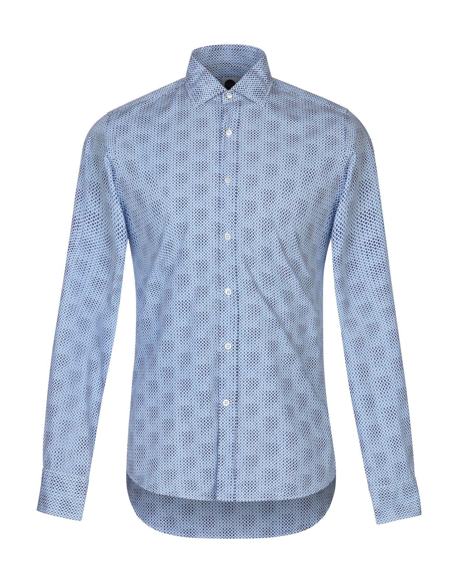 Camicia Fantasia Bagutta herren - 38794851DR