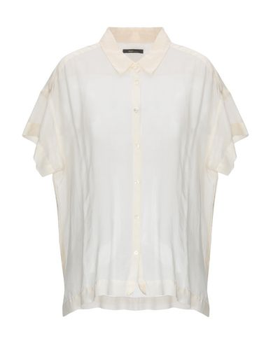 TRUE TRADITION Solid Color Shirts & Blouses in Ivory