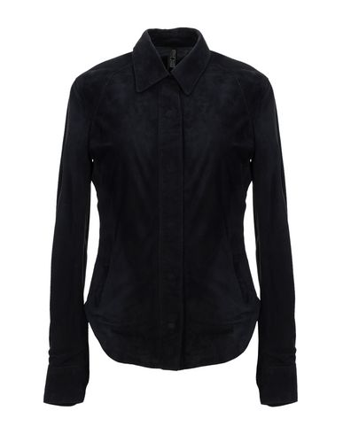 MATCHLESS Leather Jacket in Dark Blue