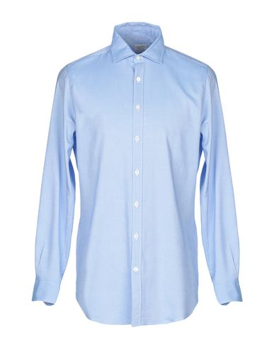 BORSA Solid Color Shirt in Sky Blue