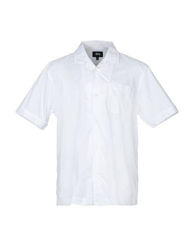 STUSSY - Camicia tinta unita