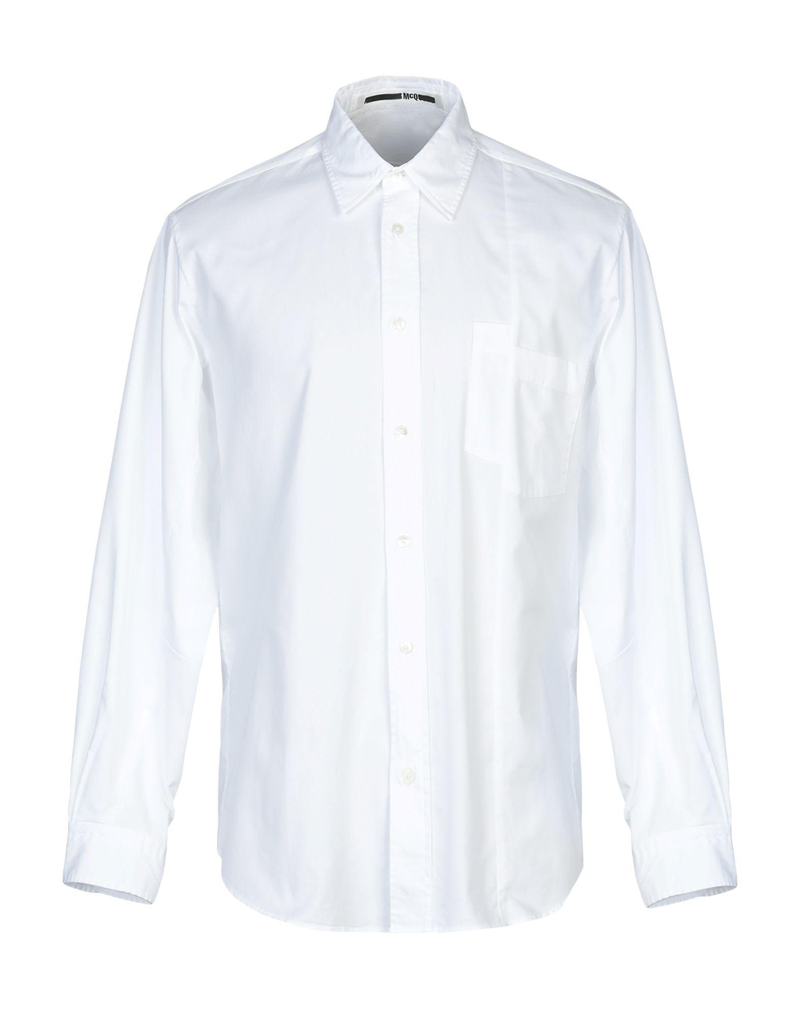 Camicia Tinta Unita Unita Mcq Alexander Mcqueen uomo - 38798638NF