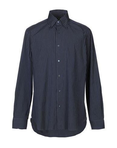 BARBA NAPOLI Striped Shirt in Dark Blue