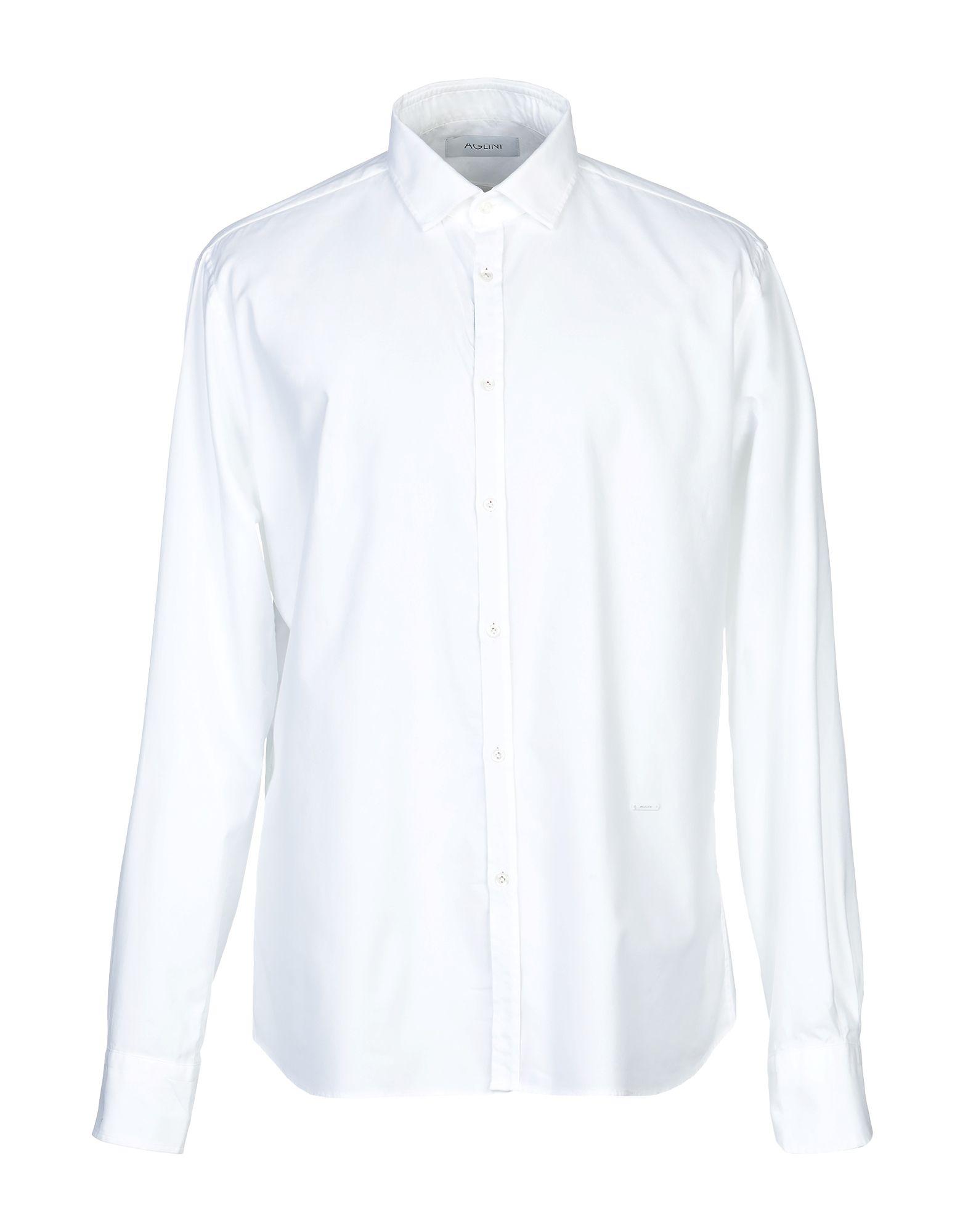 Camicia Tinta Tinta Tinta Unita Aglini uomo - 38799772HM 08e