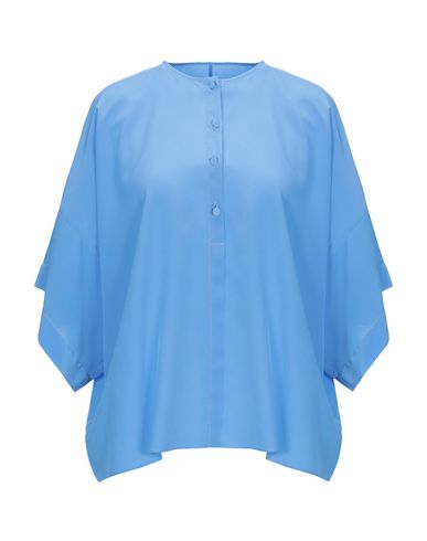 BAGUTTA Silk Shirts & Blouses in Sky Blue