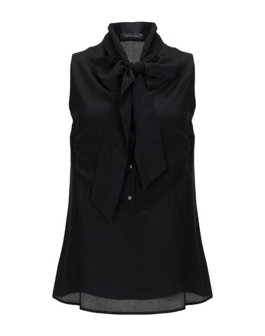 WALTER VOULAZ Shirts & Blouses With Bow in Black