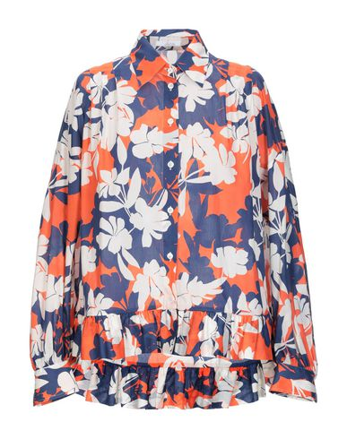 BAGUTTA Floral Shirts & Blouses in Blue