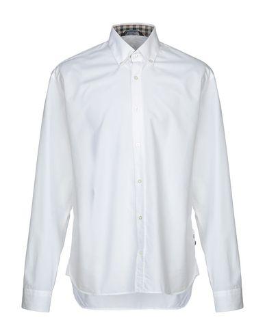 AQUASCUTUM Solid Color Shirt in White