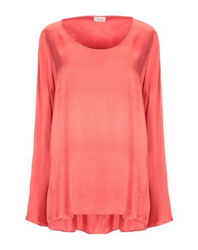 HER SHIRT Blouse in Coral