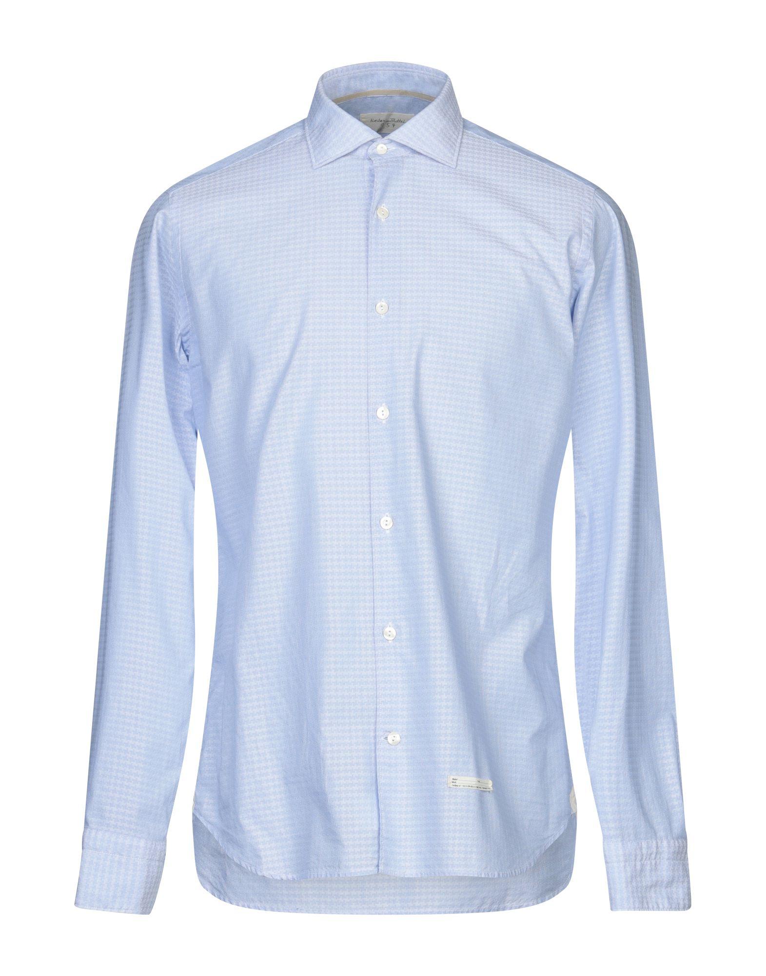 Camicia Camicia Fantasia Tintoria Mattei 954 uomo - 38803008HE  Guter Preis